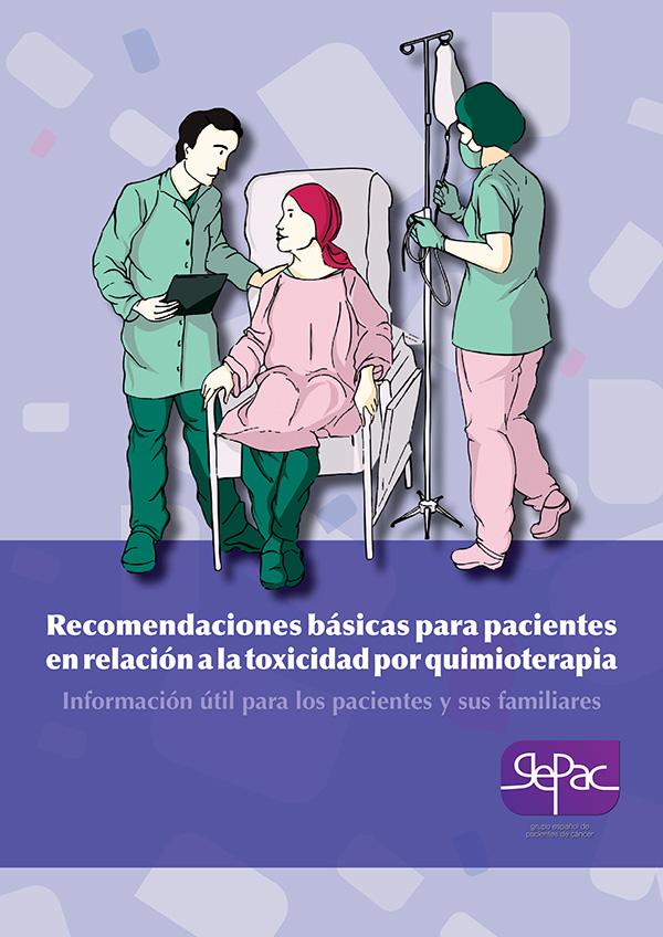Recomendaciones básicas para pacientes en relación a la toxicidad por quimioterapia
