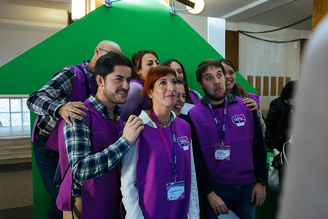 Voluntarios fotomatón