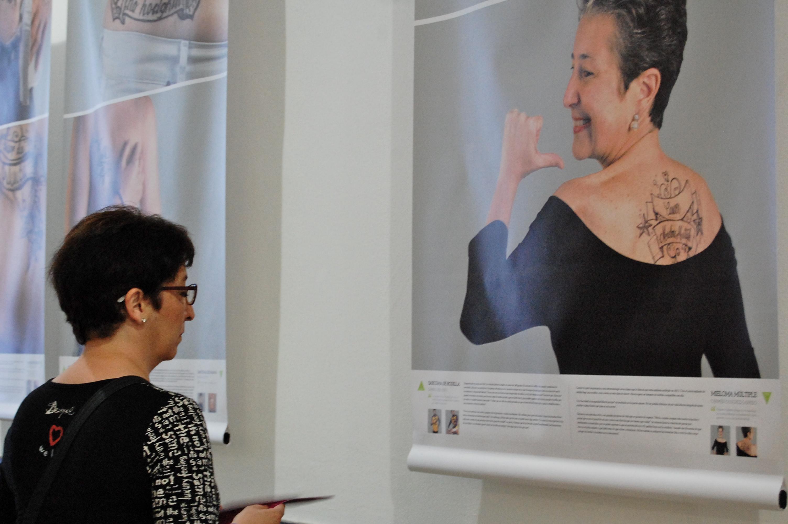 Exposición Nosmarcadeporvida 2015