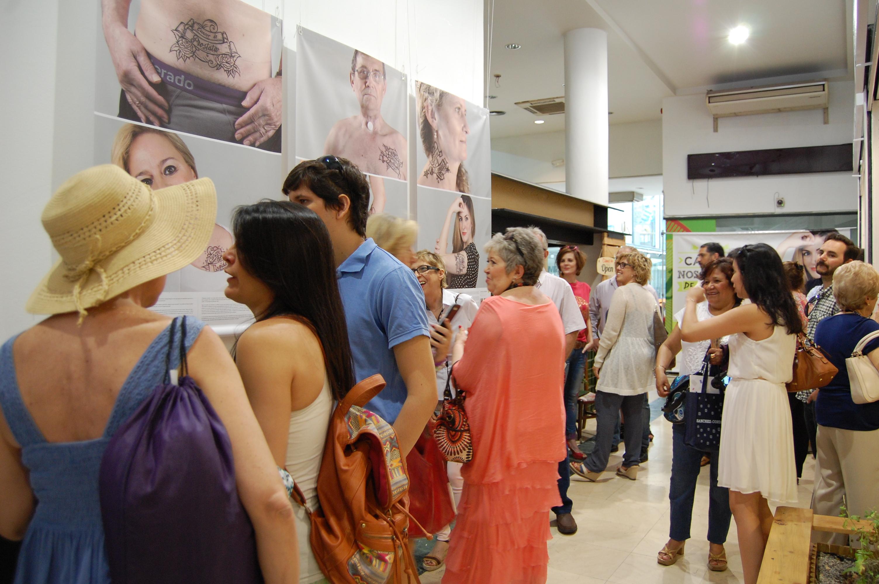 Inauguración exposición Nosmarcadeporvida 2015