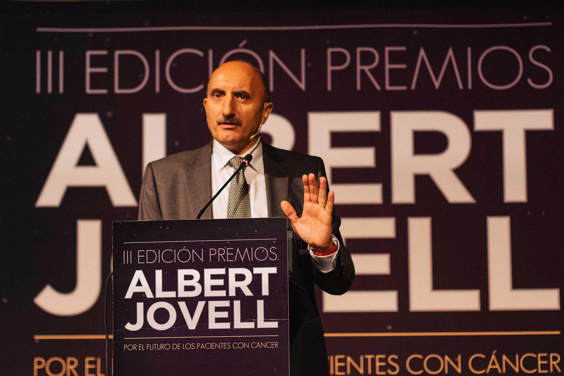 Alipio Gutiérrez abriendo la gala